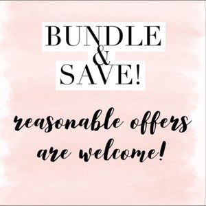 BUNDLE 2 OR MORE TO SAVE SHIPPING - Please read